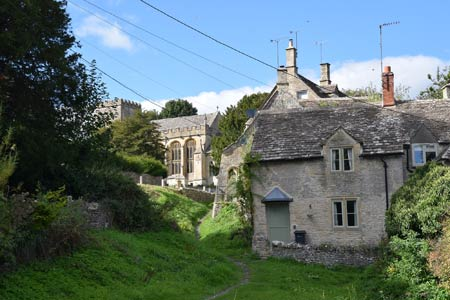 Chedworth, a village in the Cotswolds