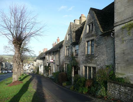 Cotswolds town called Burford, Oxfordshire