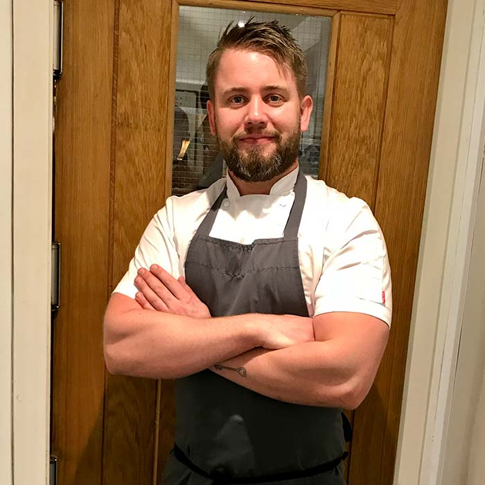 Joe McCarthy Chef in the Cotswolds